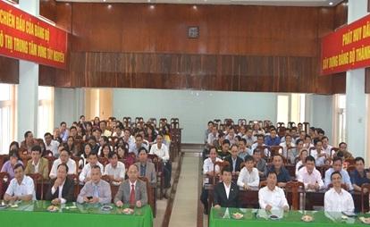 Lãnh đạo thành phố Buôn Ma Thuột gặp mặt đầu xuân 2017