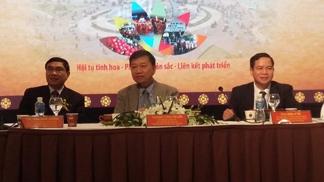 """Họp báo """"Lễ hội cà phê Buôn Ma Thuột lần thứ 6 và Liên hoan văn hóa Cồng chiêng Tây Nguyên năm 2017""""- tại Hà Nội"""