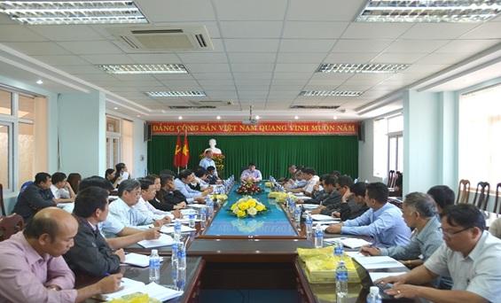 Thành ủy Buôn Ma Thuột: Hội nghị giao ban tháng 2 năm 2017 với Bí thư các xã, phường