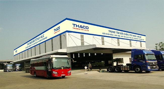 Phê duyệt quy hoạch tổng mặt bằng Dự án Trung tâm trưng bày, kinh doanh và dịch vụ bảo hành xe ô tô Thaco