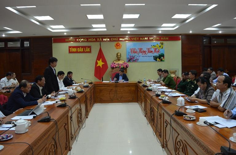 Báo cáo tình hình trước, trong, sau Tết Nguyên đán Đinh Dậu 2017 và một số kết quả thực hiện nhiệm vụ phát triển KT-XH, đảm bảo quốc phòng an ninh tháng 01/2017.