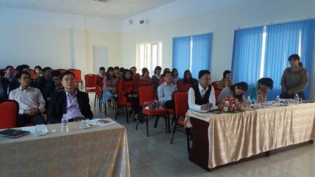 Trường Trung cấp Luật Buôn Ma Thuột tổ chức Hội nghị triển khai công tác tuyển sinh năm 2017