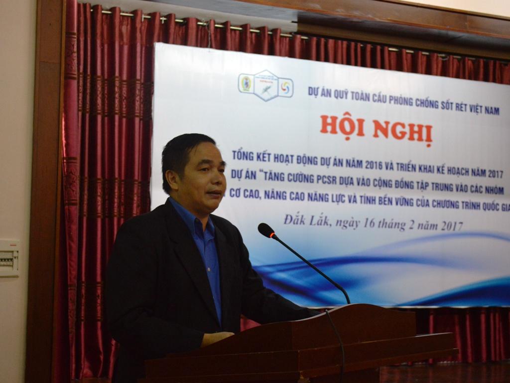 Ban quản lý dự án Phòng chống sốt rét Quỹ toàn cầu tỉnh Đắk Lắk triển khai kế hoạch năm 2017