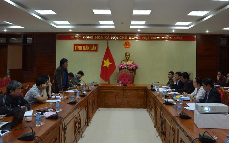 UBND tỉnh làm việc với Trung tâm Truyền hình Việt Nam tại Đà Nẵng.