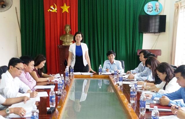 Chương trình giám sát năm 2017 của Ban Văn hóa – Xã hội HĐND