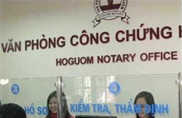 Thành lập Hiệp hội công chứng viên