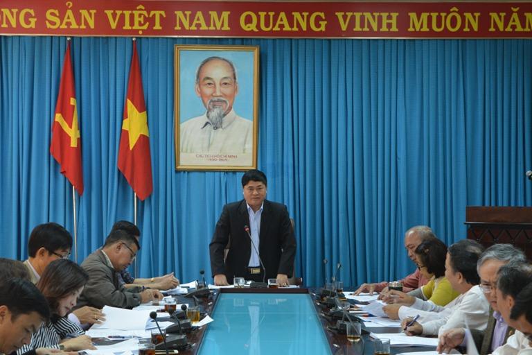 Họp Ban Chỉ đạo xây dựng Đề án vị trí việc làm và cơ cấu ngạch công chức, viên chức trong cơ quan Đảng, Mặt trận và các tổ chức chính trị - xã hội của tỉnh giai đoạn 2016 – 2021.