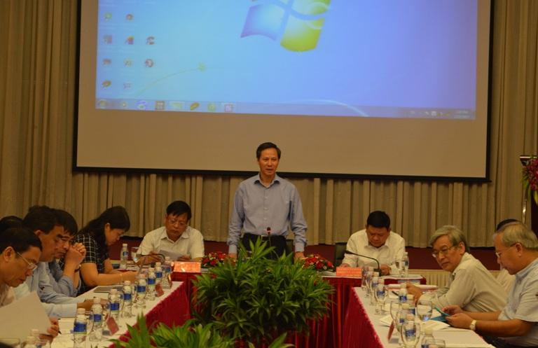Đoàn công tác của Bộ Nội vụ làm việc với hai tỉnh Đắk Lắk và Khánh Hòa về việc xác định địa giới hành chính cấp tỉnh.