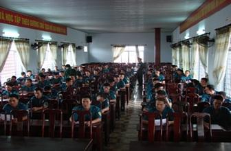 Mở lớp đào tạo Trung cấp chuyên nghiệp ngành Quân sự cơ sở khóa 8