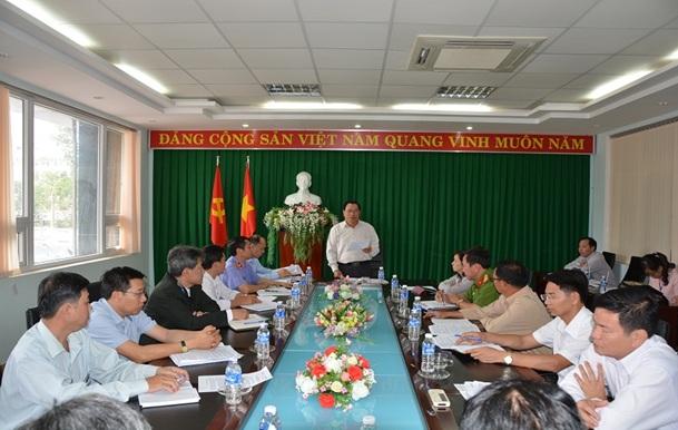 Thường trực Thành ủy Buôn Ma Thuột, giao ban khối Nội chính tháng 2 năm 2017