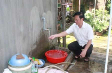 Xây dựng công trình cấp nước sinh hoạt tại thôn Quỳnh Ngọc, xã Ea Na, huyện Krông Ana