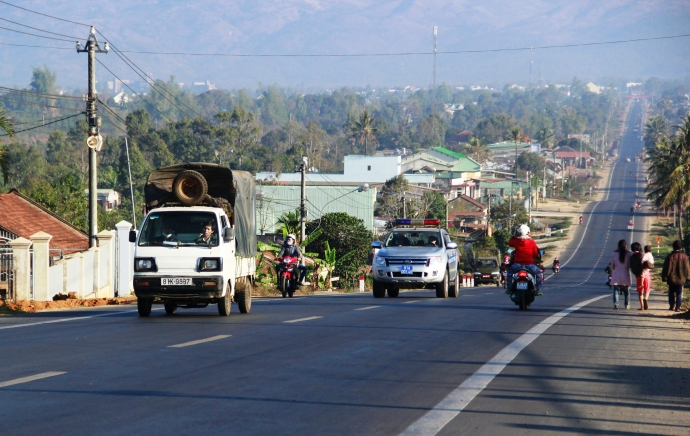 Ứng vốn từ Quỹ Phát triển đất tỉnh để GPMB dự án Cải tạo đường Hồ Chí Minh đoạn từ đường Đinh Tiên Hoàng nối với đường Lê Duẩn