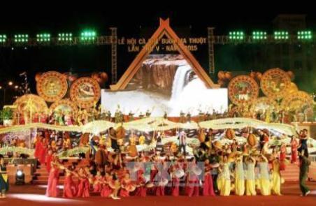 Triển khai các nội dung liên quan đến Lễ hội Cà phê Buôn Ma Thuột lần thứ 6 và Liên hoan Văn hóa Cồng chiêng Tây Nguyên năm 2017.