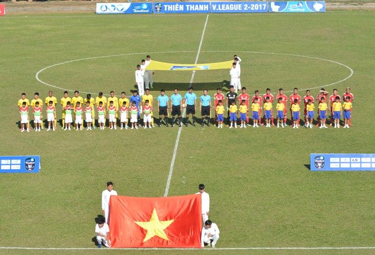 Vòng 5 giải Bóng đá Hạng Nhất quốc gia – Sứ Thiên Thanh 2017: Thắng kịch tính Xi măng Fico Tây Ninh, Đắk Lắk có 3 điểm đầu tiên.