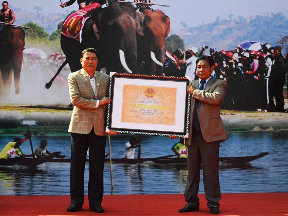 Danh thắng Thác Bìm Bịp được công nhận là di tích Quốc gia.