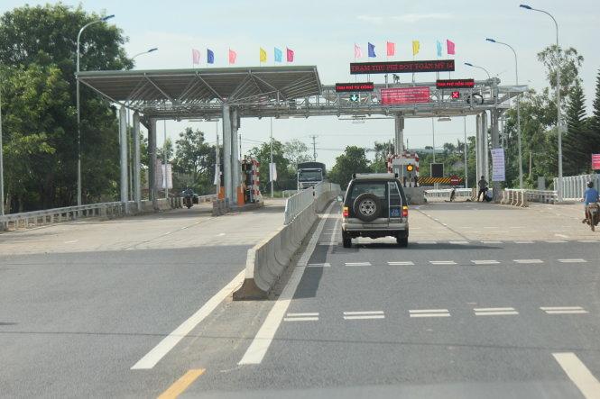 Đề nghị di dời trạm thu phí BOT tải Km 1747 đường Hồ Chí Minh