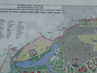 Điều chỉnh cục bộ Quy hoạch phân khu tỷ lệ 1/2000 Khu đô thị mới Đồi Thủy văn và Trung tâm thể dục thể thao thành phố Buôn Ma Thuột
