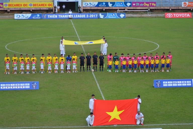 Vòng 7 giải Bóng đá Hạng Nhất quốc gia năm 2017: Thắng Đồng Tháp 3-2, Đắk Lắk vươn lên vị trí thứ 5.