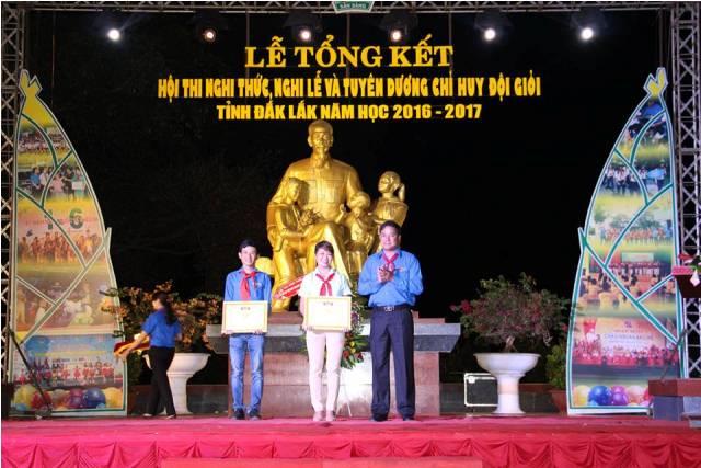 Tổ chức Hội thi Nghi thức, Nghi lễ và Chỉ huy Đội giỏi tỉnh Đắk Lắk năm học 2016 – 2017