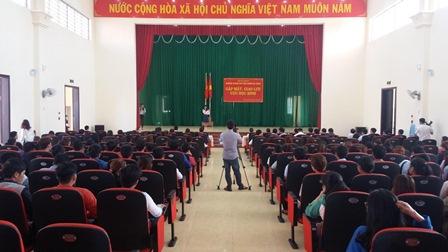 Đoàn trường Trung cấp Luật Buôn Ma Thuột tổ chức Chuỗi hoạt động chào mừng Kỷ niệm 86 năm Ngày thành lập Đoàn TNCS Hồ Chí Minh