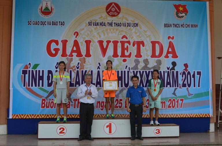 Hơn 500 VĐV tham gia giải Việt dã tỉnh Đắk Lắk lần thứ 35 năm 2017.