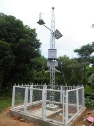 Triển khai trạm đo mưa tự động chuyên dùng phục vụ công tác phòng chống thiên tai trên địa bàn tỉnh