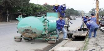 Điều chỉnh dự toán Dịch vụ công ích đô thị trên địa bàn thành phố Buôn Ma Thuột về nạo vét hệ thống thoát nước mưa