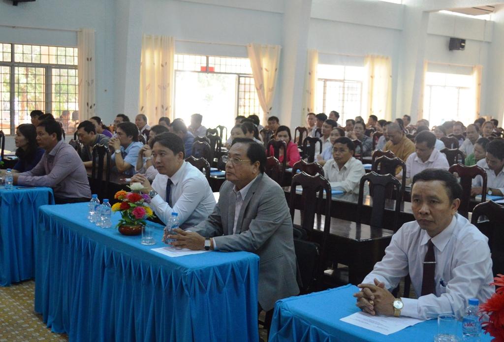 Khai giảng lớp bồi dưỡng Đại biểu HĐND cấp huyện nhiệm kỳ 2016 – 2021