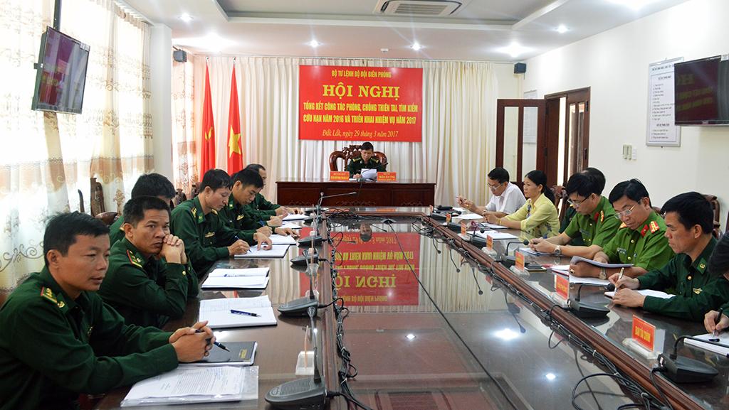 Bộ Tư lệnh Bộ đội Biên phòng tổng kết công tác phòng, chống thiên tai, tìm kiếm cứu nạn