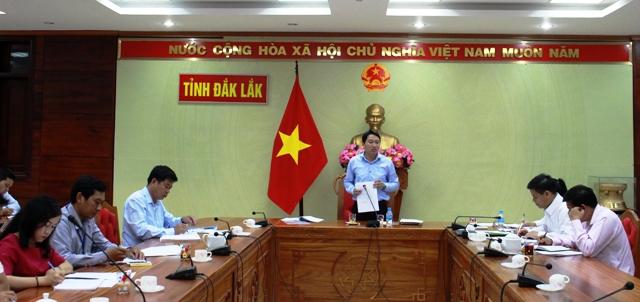 Họp Ban Chỉ đạo thành lập Trung tâm hành chính công tỉnh