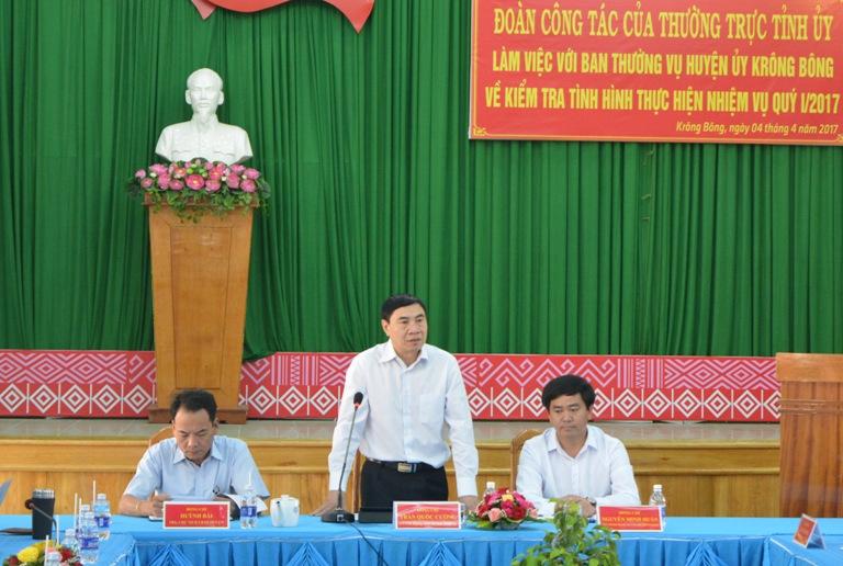 Huyện Krông Bông đề nghị tỉnh sớm cho chủ trương để xây dựng mới cầu Cư Păm