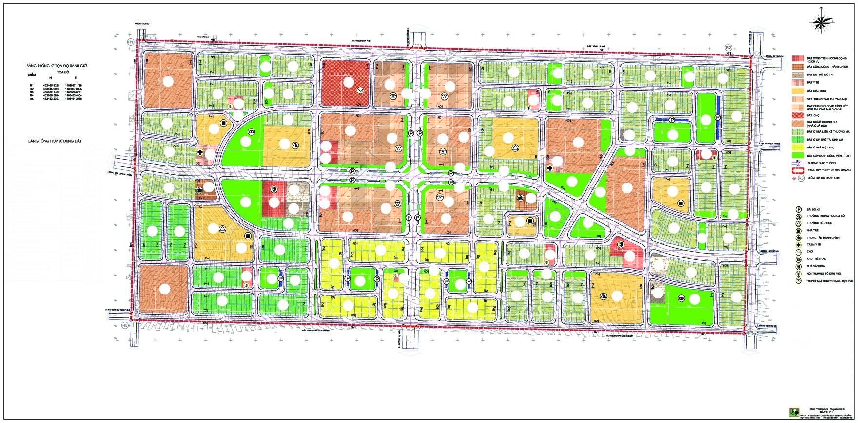 Tách danh mục quy hoạch chi tiết xây dựng tỷ lệ 1/500 Khu dân cư phía Tây Nam thị trấn Ea Kar, huyện Ea Kar.