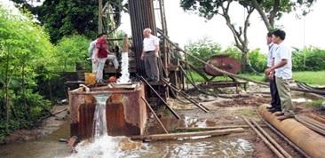 Hạn chế cấp phép khai thác nước ngầm và tạm dừng cấp giấy phép hành nghề khoan nước ngầm