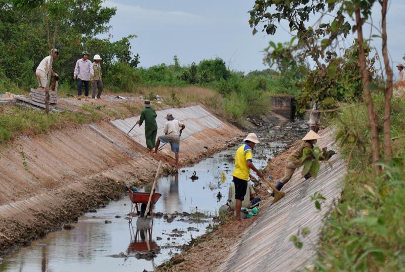 Đầu tư và điều chỉnh quy mô công trình: Thủy lợi buôn Ja Tu II, xã Buôn Triết, huyện Lắk.