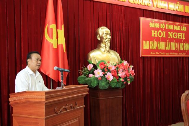 Hội nghị Ban Chấp hành Đảng bộ tỉnh lần thứ 9 (mở rộng)