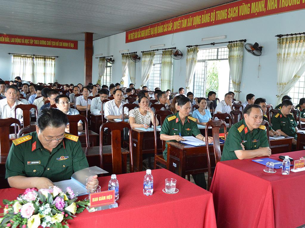 85 học viên tham dự Lớp Bồi dưỡng kiến thức an ninh quốc phòng đối tượng 3, khóa 85 năm 2017