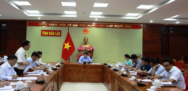Họp xử lý vướng mắc của Công ty cổ phần đăng kiểm Đắk Lắk và Công ty TNHH Ánh Dương.