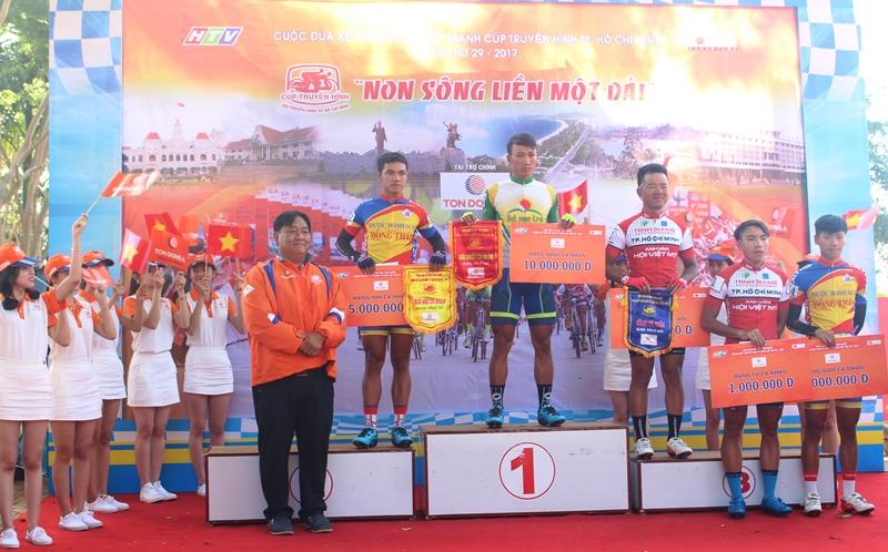 Trao giải chặng 5 và khai mạc chặng 6 giải đua xe đạp Cúp Truyền hình thành phố Hồ Chí Minh lần thứ 29 - năm 2017