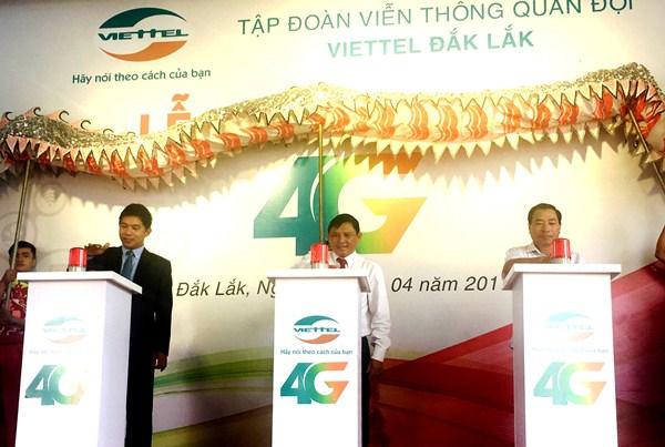 Viettel chính thức khai trương mạng 4G tại Đắk Lắk