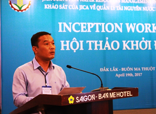 Hội thảo khởi động khảo sát của JICA về quản lý nguồn nước tại khu vực Tây Nguyên
