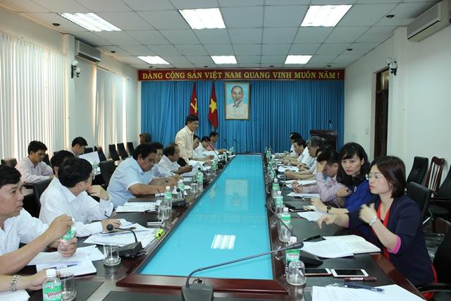 Đoàn khảo sát của Ban Tuyên giáo Trung ương làm việc tại tỉnh Đắk Lắk.
