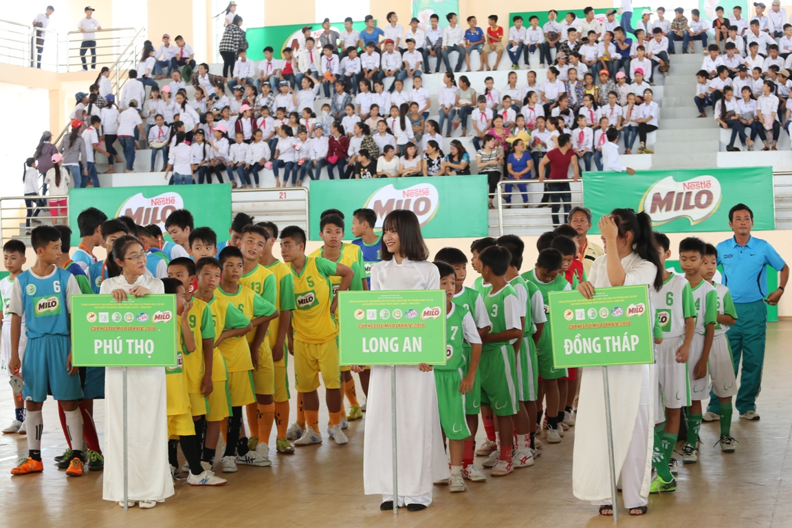 Tổ chức Giải Bóng đá Hội khỏe Phù Đổng học sinh Tiểu học và Trung học cơ sở toàn quốc Cúp Milo năm 2017 tại khu vực III