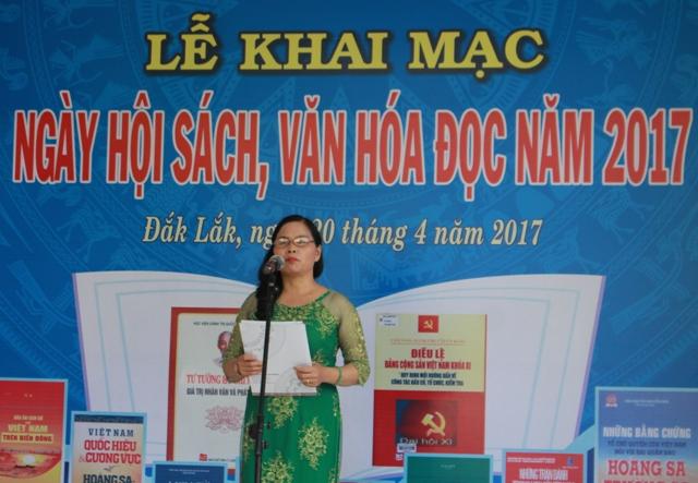 Khai mạc Ngày hội sách, văn hóa đọc năm 2017