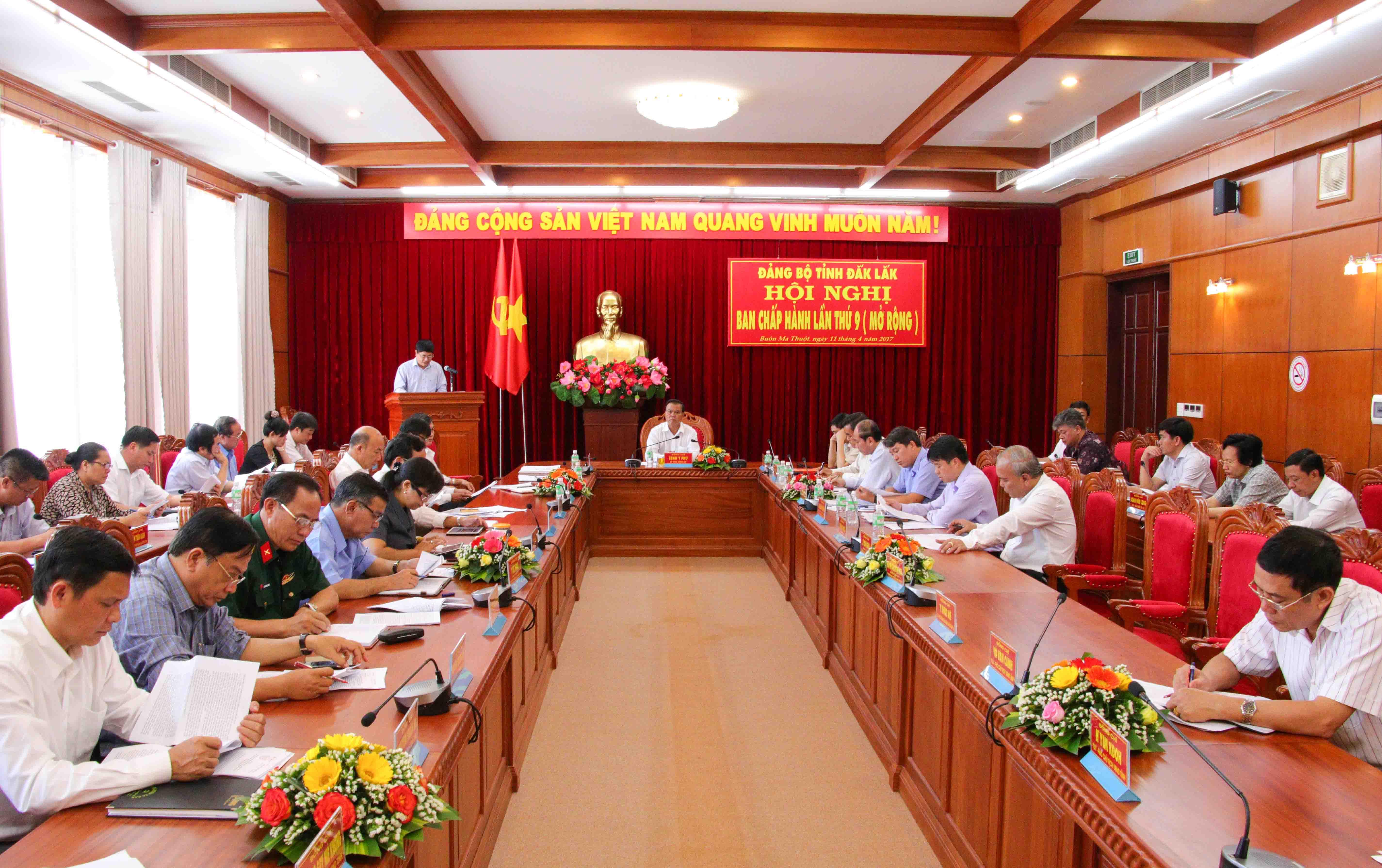 Kết luận Hội nghị Ban Chấp hành Đảng bộ tỉnh (mở rộng) lần thứ 9