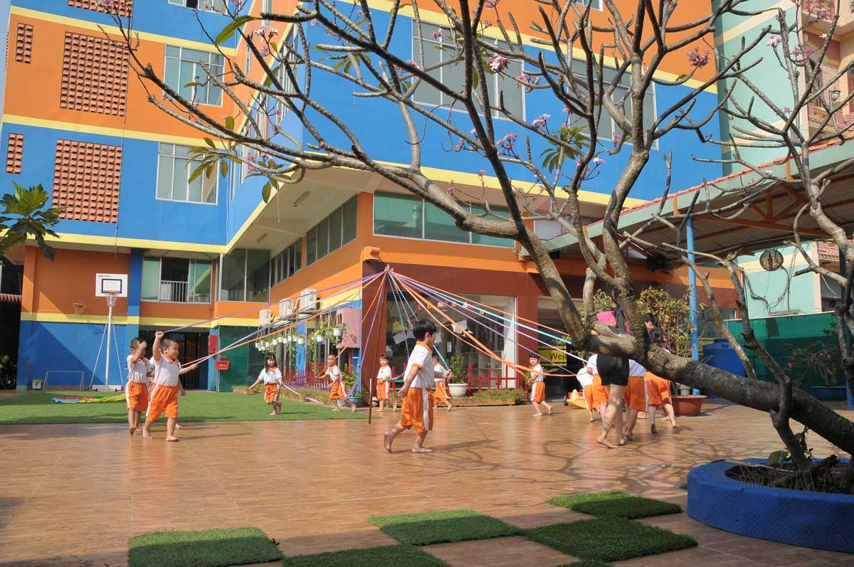 Phê duyệt quy hoạch tổng mặt bằng tỷ lệ 1/500 dự án: Trường Mầm non Việt Úc.