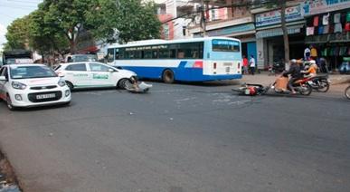 Tai nạn giao thông đường bộ Đắk Lắk tháng 04/2017 tăng về số vụ, số người chết so với tháng 3/2017