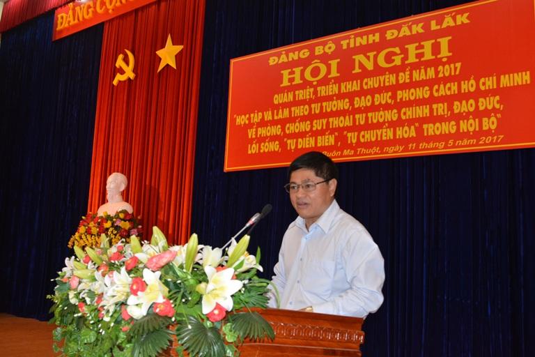 Hội nghị cán bộ chủ chốt của tỉnh.