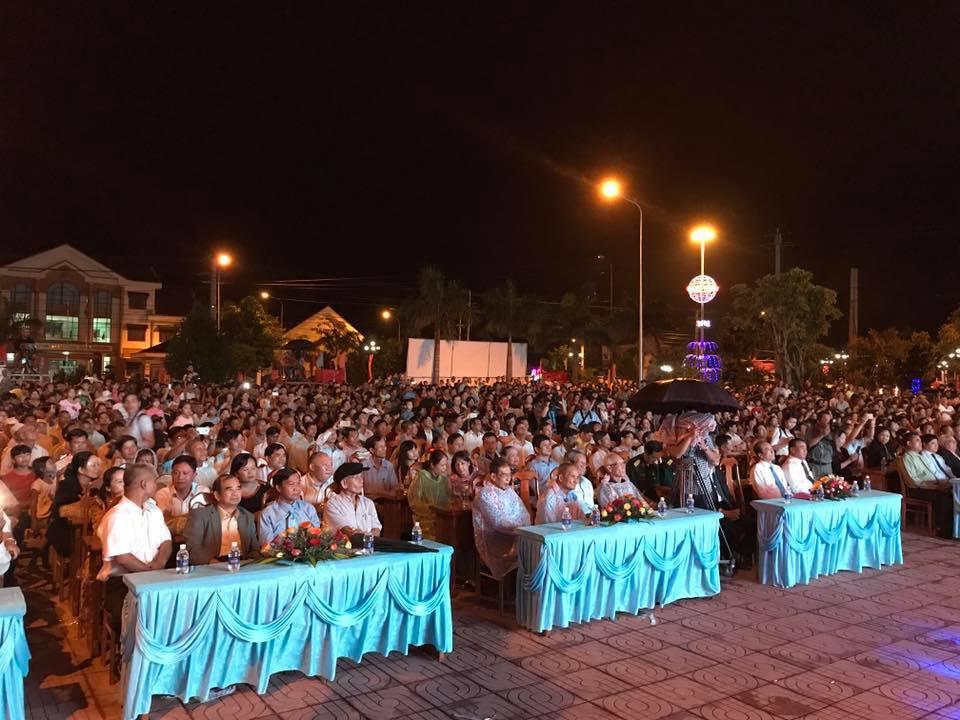 Lễ đón nhận Bằng xếp hạng di tích quốc gia Khu căn cứ kháng chiến tỉnh Đắk Lắk.