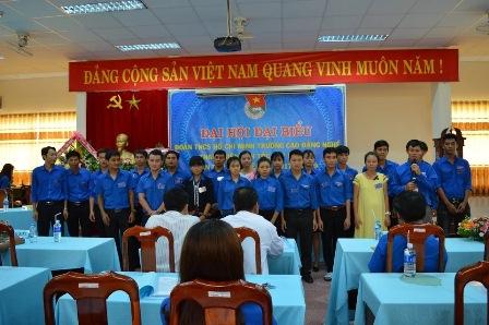 Đại hội Đại biểu Đoàn TNCS Hồ Chí Minh trường Cao đẳng nghề Thanh niên Dân tộc Tây Nguyên lần thứ XV