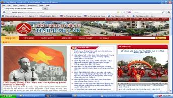 Thành lập Ban Biên tập Cổng thông tin điện tử của tỉnh